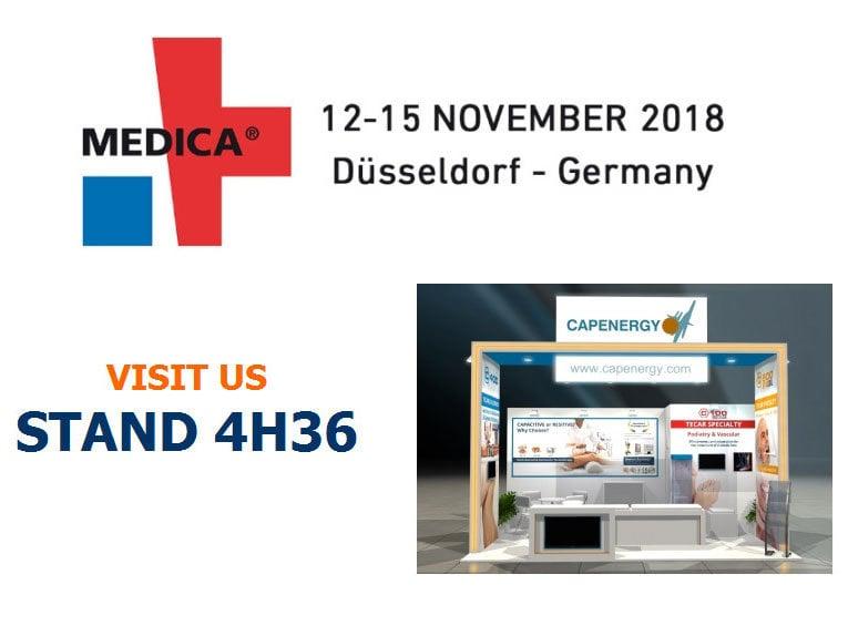 Visit us during Medica'2018 - Arena-Straße, 40474 Düsseldorf