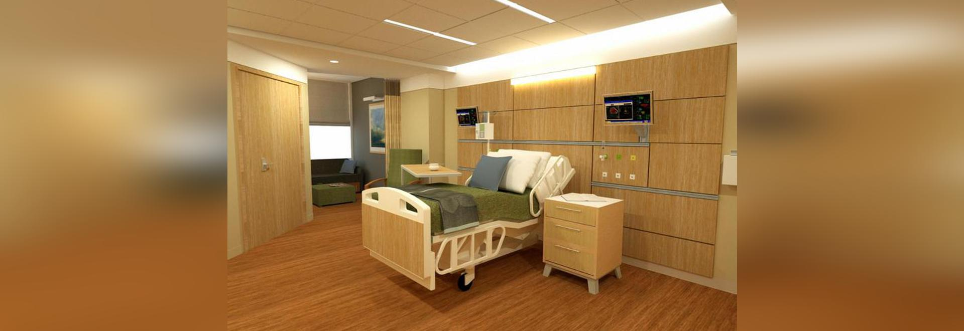 eastern maine medical center celebrates topping out of modernization
