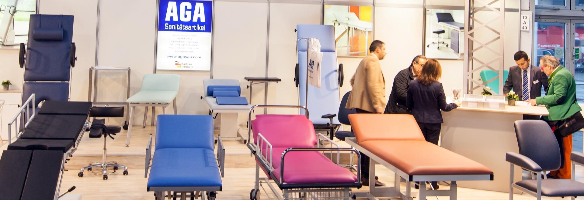 AGA Sanitätsartikel will be present at MEDICA again in 2017