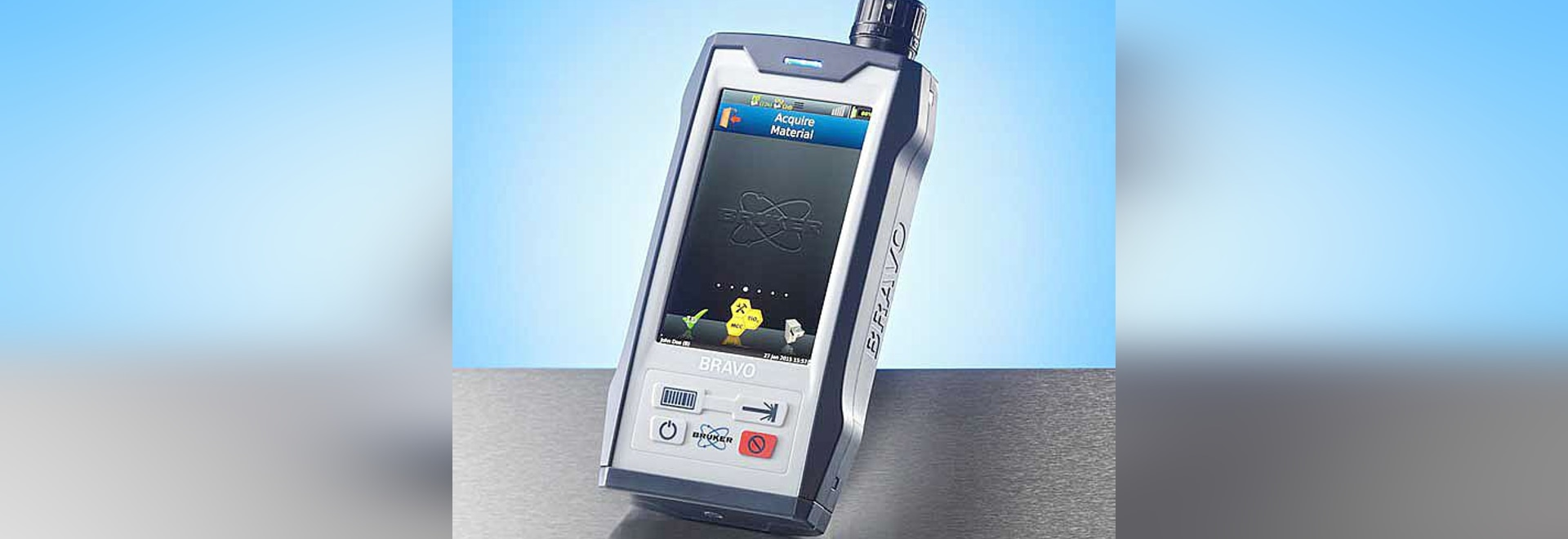 Bruker launches new BRAVO Handheld Raman Spectrometer  for Raw Materials identification