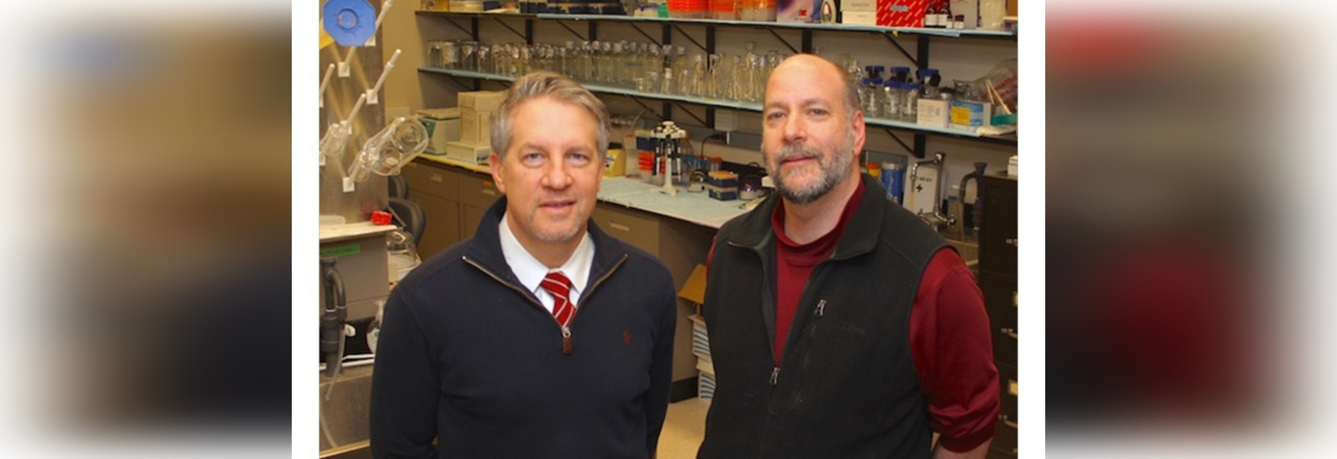 Drs. William Giannobile (left) and David Kohn of the University of Michigan will be part of the NIDCR's multi-organizational efforts to develop tissue regeneration therapy