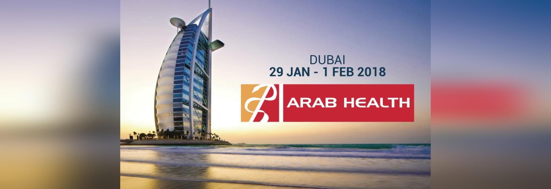 Echolight at Arab Health 2018 in Dubai.