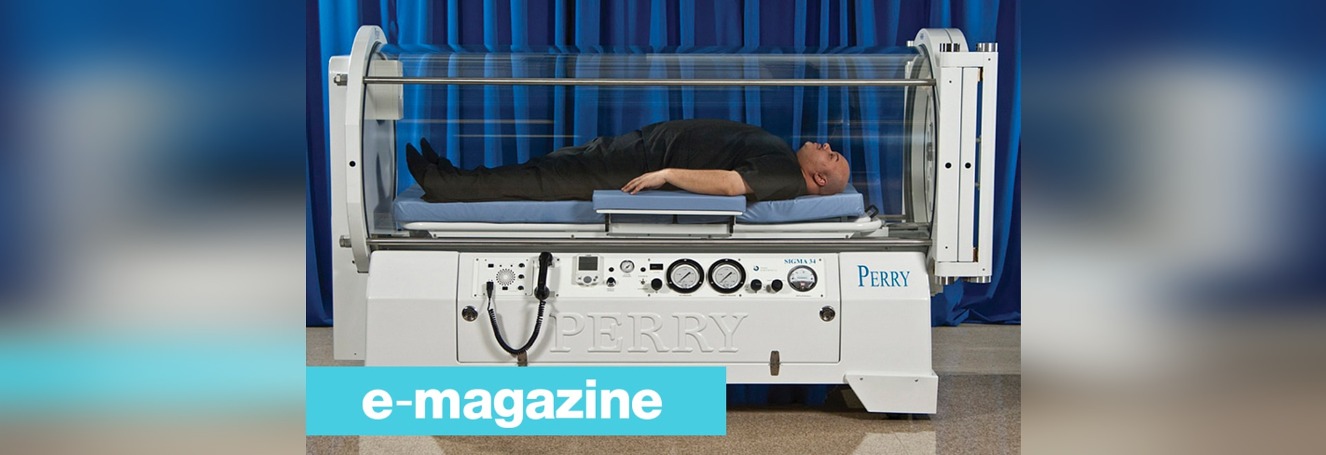 A Hyperbaric Chamber for Patients up to 320 Kg