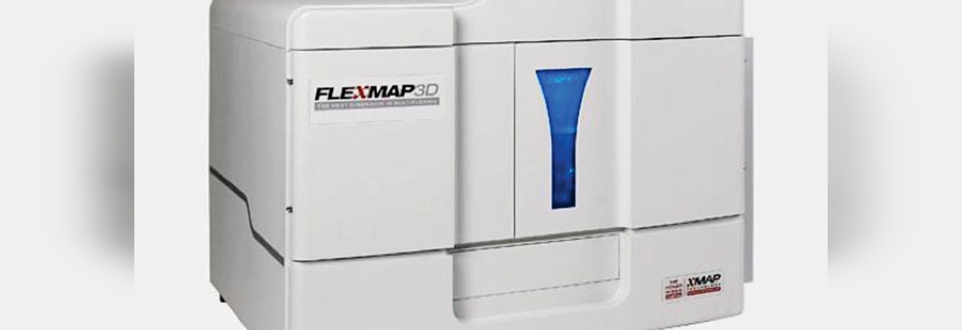Image: The FLEXMAP 3D instrument is an advanced and versatile multiplexing platform. The platform uses both magnetic and non-magnetic microspheres and is capable of simultaneously measuring up to 5...