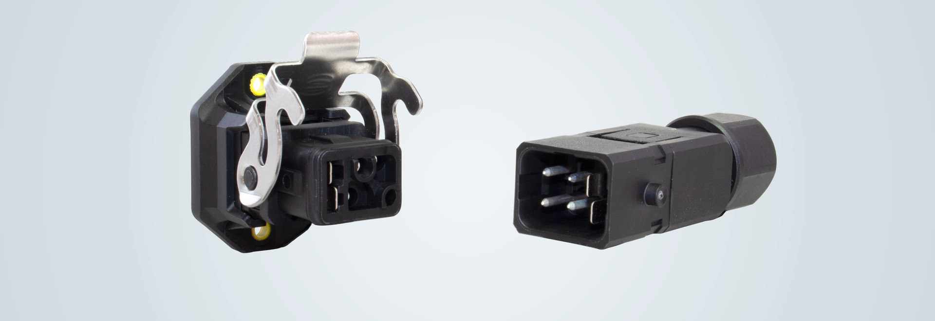 Industrial device connector
