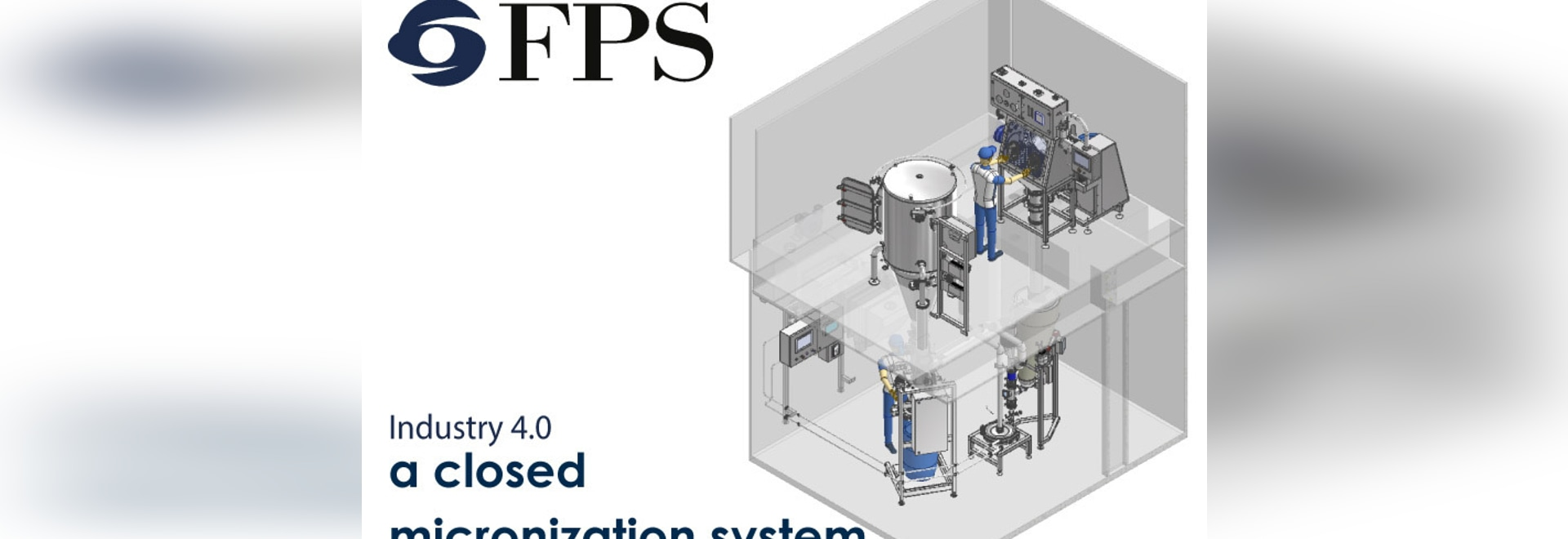 Industry 4.0: a closed micronization system