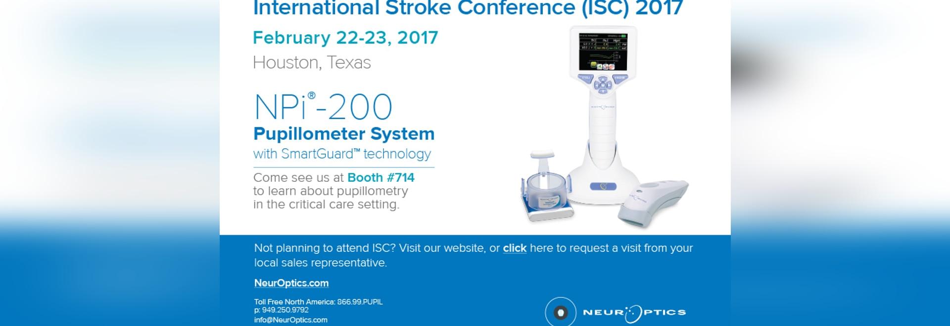 International Stroke Conference 2017