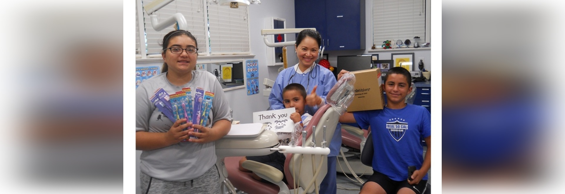 Kids' Community Dental Clinic in Burbank, Calif, received a $5,000 grant from America's ToothFairy.