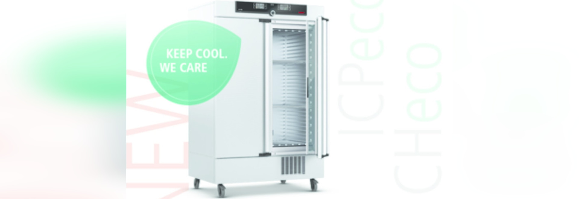Memmert appliances ICHeco and ICPeco now CO2-cooled