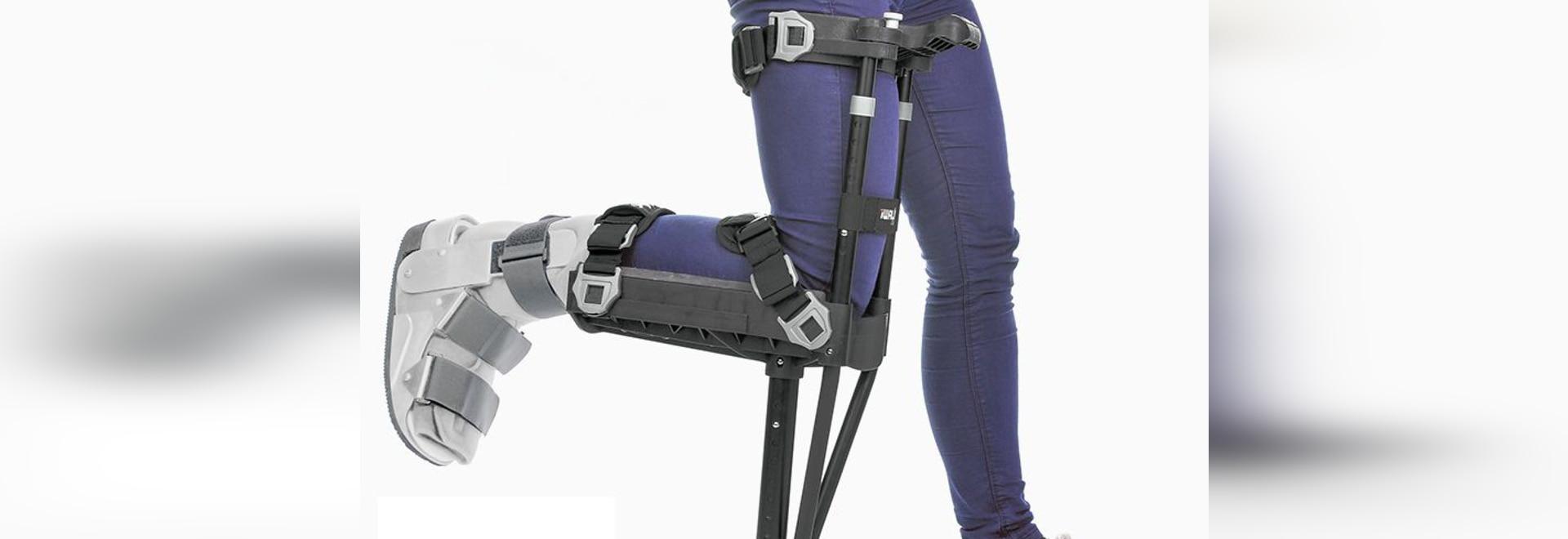 NEW: hands-free crutch by iWALKFree