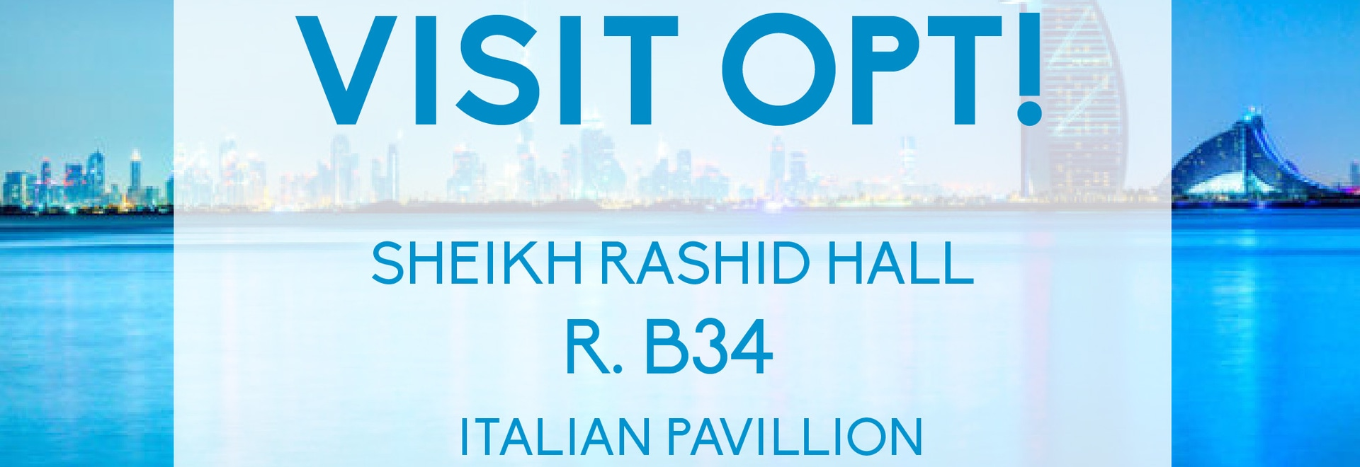 OPT at Arab Health Dubai