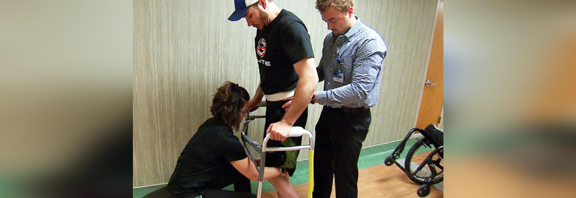 Paraplegic Man Walks Again Thanks to Implanted Spinal Cord Stimulator