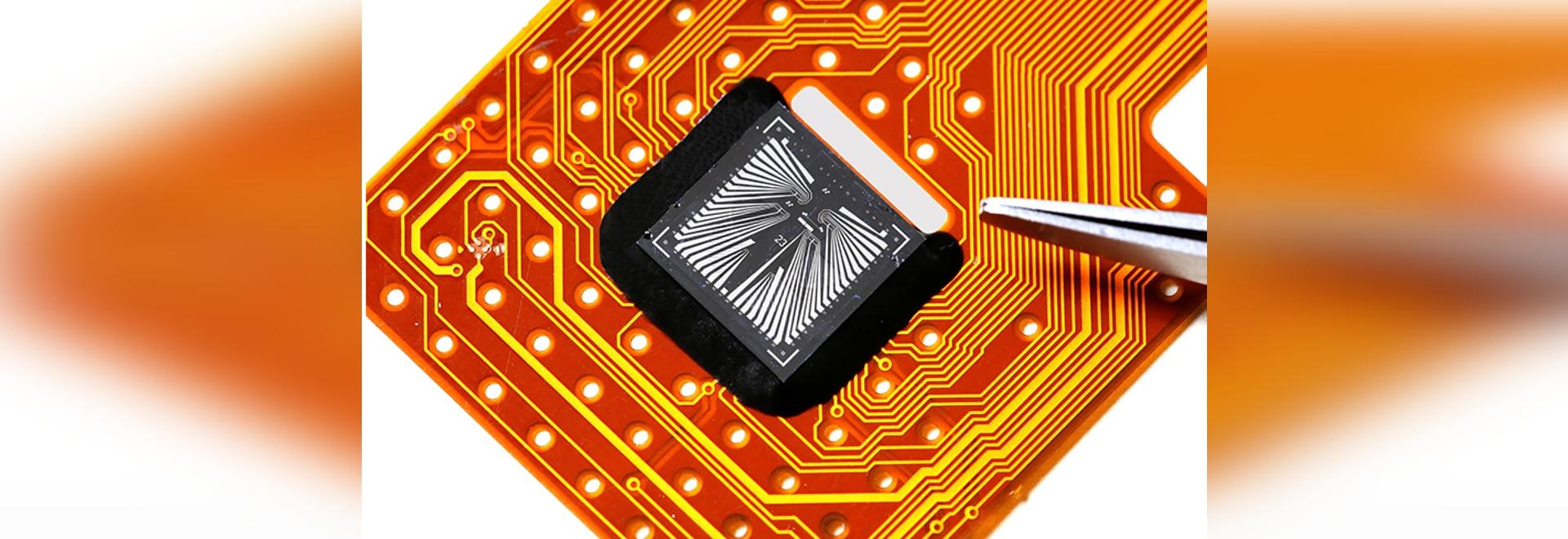 Sensor Pulls Sweat from Skin to Measure Multiple Biomarkers