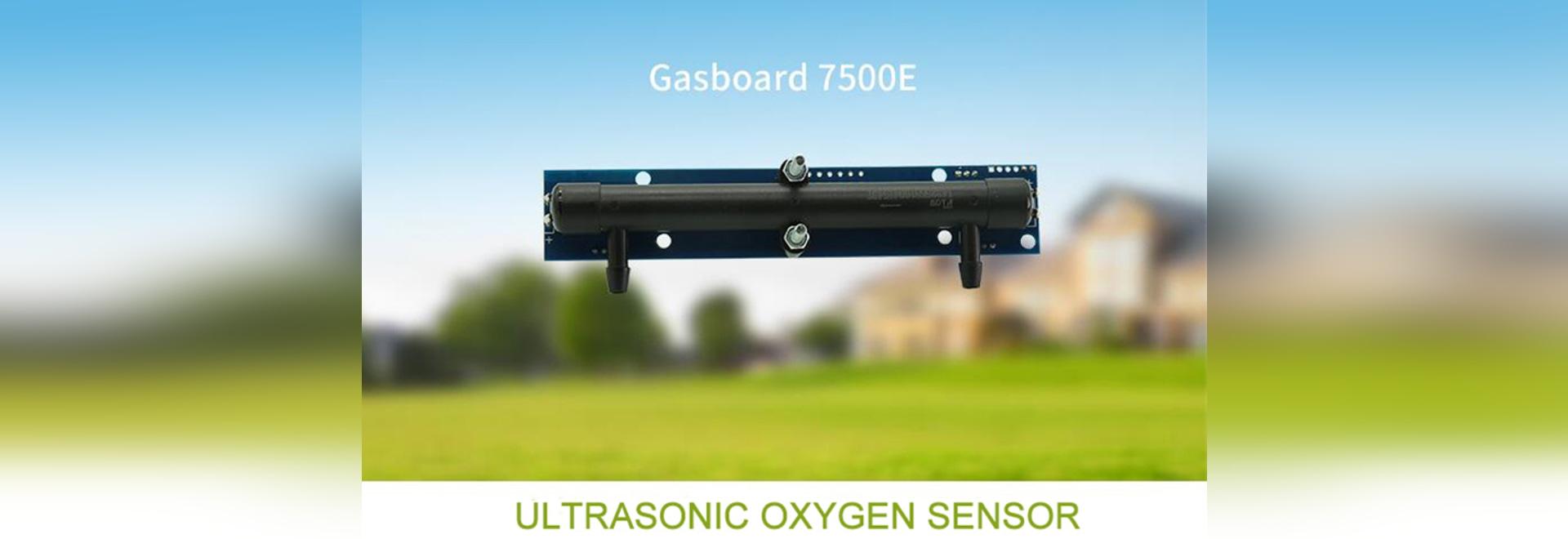 Ultrasonic Oxygen Sensor Gasboard7500E for  Ventilator Application Solution