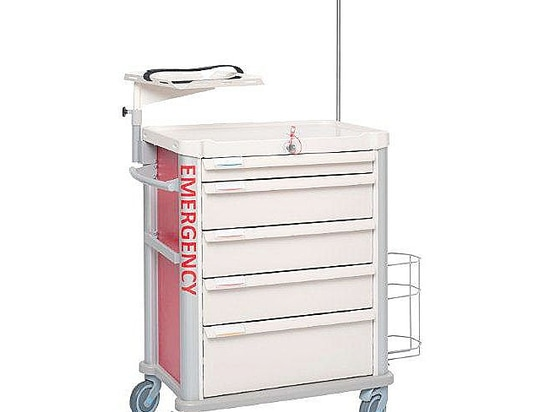 It's not a matter of size! Get the proof in ARAB HEALTH with the New EOLIS 600x400 medical trolleys by VILLARD