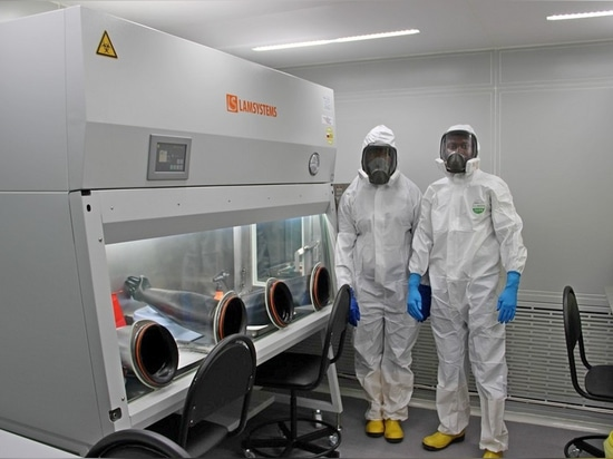 LAMSYSTEMS equipment as part of the new laboratory of infectious diseases