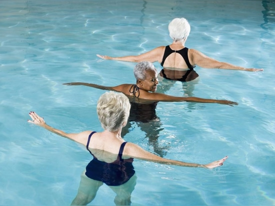 Water exercises can help alleviate back pain.