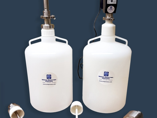 New Sanitary Mixtank System