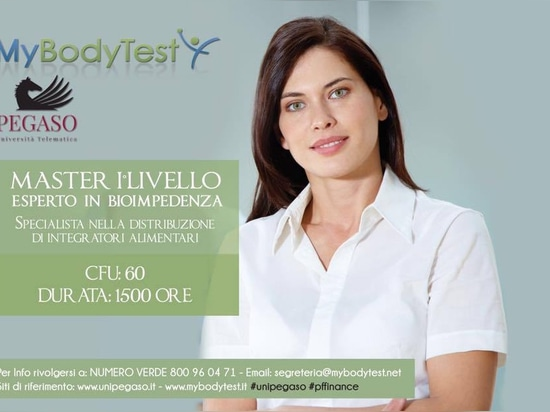 MASTER DEGREE: Expert in Bioelectrical Impedance Analysis and Specialist in the Distribution of Dietary Supplements