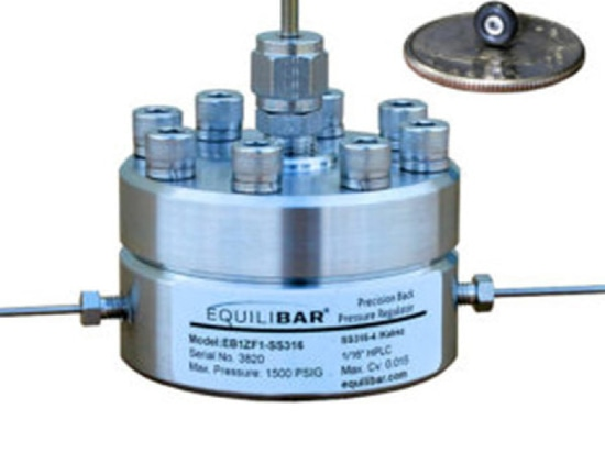 Equilibar Back Pressure Regulator featured in Clean Energy Research