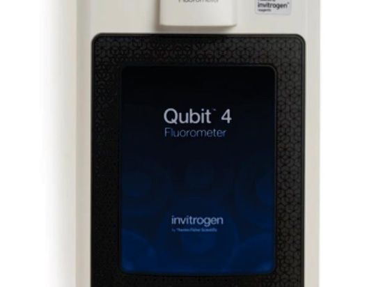 The Invitrogen Qubit 4 Fluorometer is the next generation of the popular benchtop fluorometer designed to accurately measure DNA, RNA, and protein quantity (Photo courtesy of Thermo Fisher Scientif...