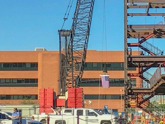 Banner Outpatient Cancer Center Tops Off in Phoenix