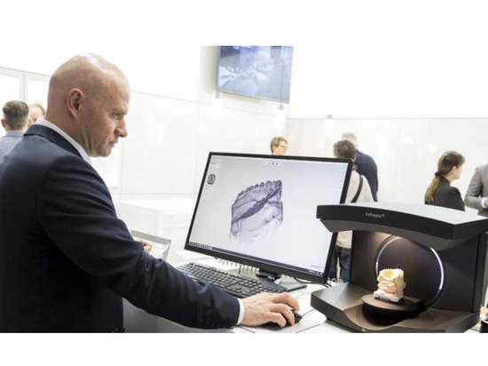 Digital technologies are driving orthodontics forward. (Photograph: Koelnmesse/IDS Cologne)
