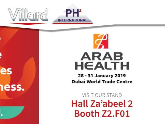 Visit Villard Medical at ARAB HEALTH 2019