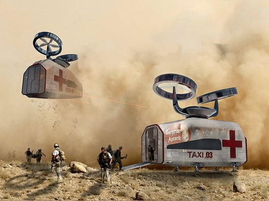sydney based studio HDR develops a flying hospital concept for disaster relief