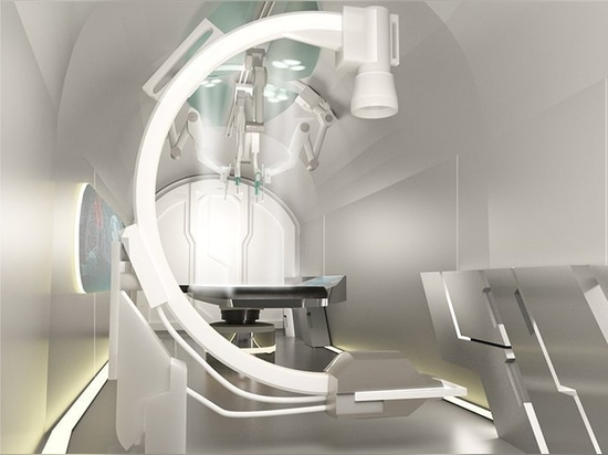 sydney based studio HDR develops a flying hospital concept for disaster relief