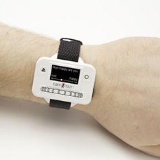 着用型身体活動モニター / 手首用 / USB