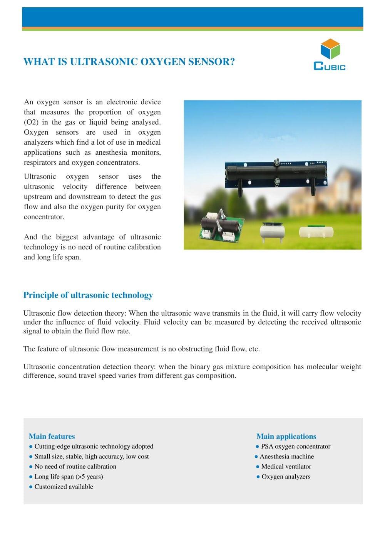 What Is Ultrasonic Oxygen Sensor Wuhan Cubic Optoelectronics Pdf