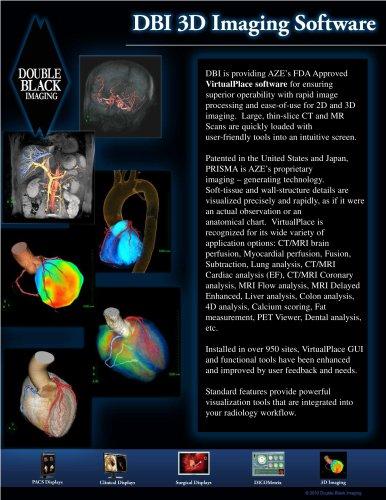 DBI 3D Imaging Software - Double Black Imaging - PDF Catalogs