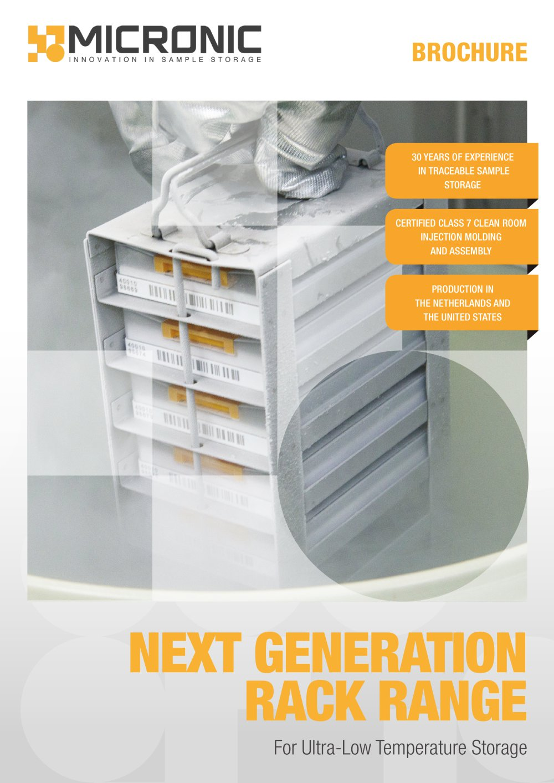 trifold flyer next generation rack range micronic pdf catalogue