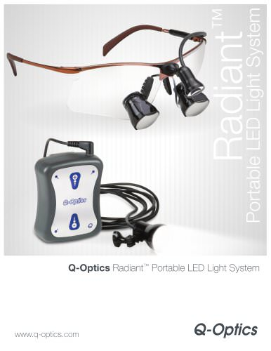 Q-Optics Radiant LED Light System with RADHUM2