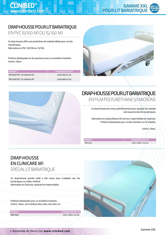 drap housse polyuréthane Drap housse pour lit bariatrique en film polyuréthane 50 microns  drap housse polyuréthane