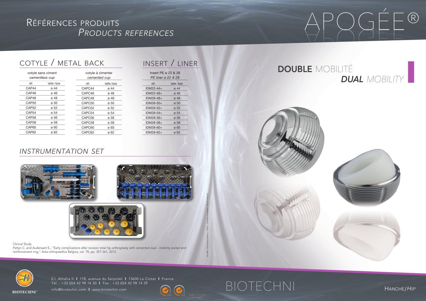 Apogee Biotechni Pdf Catalogs Technical Documentation