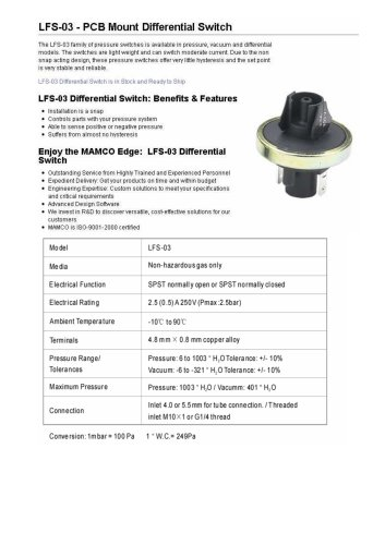 LFS-03 - BS-rep GmbH - PDF Catalogs | Technical Documentation