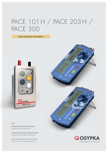 PACE 101 H / PACE 203 H / PACE 300