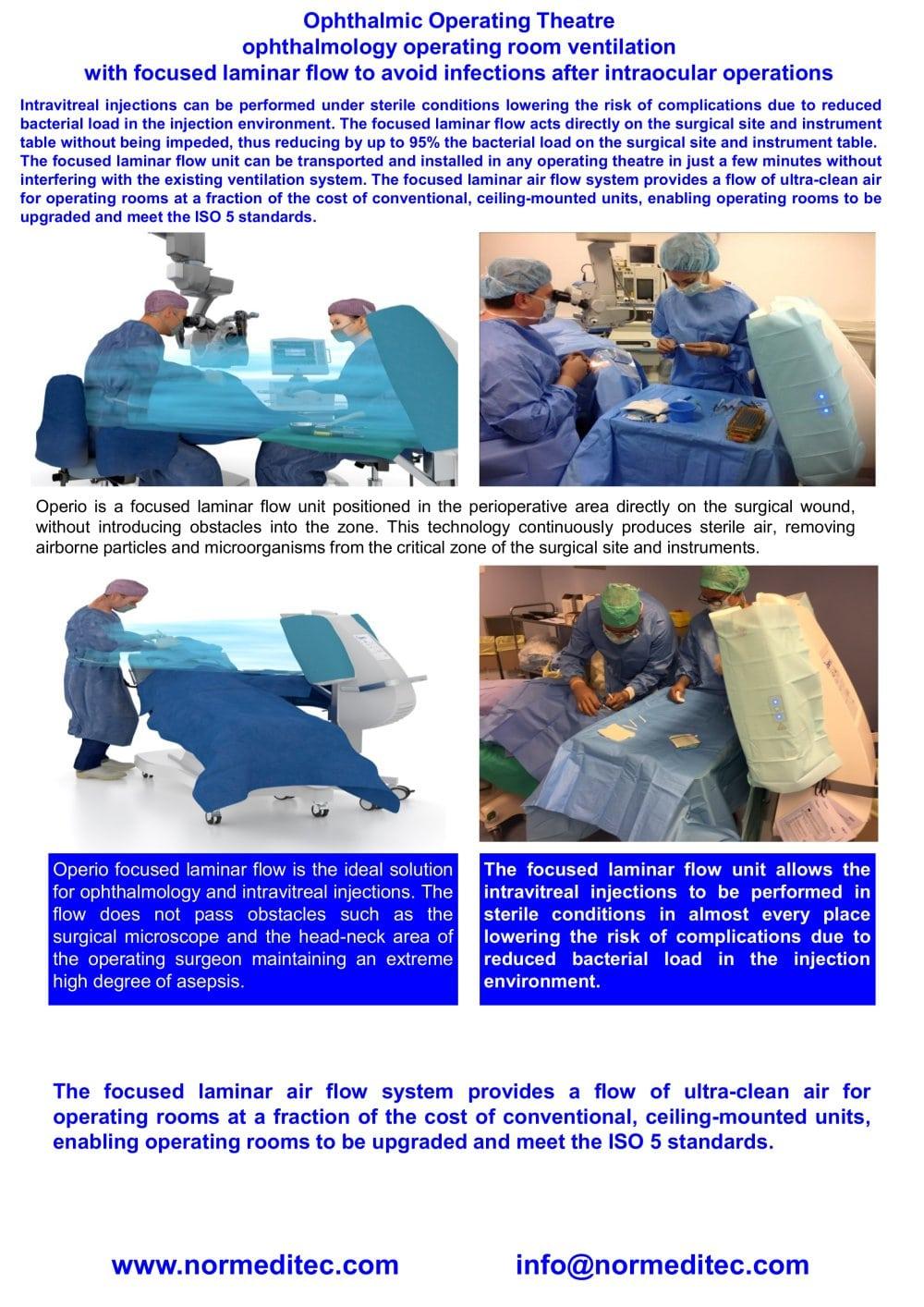 sterile zone in operation theatre