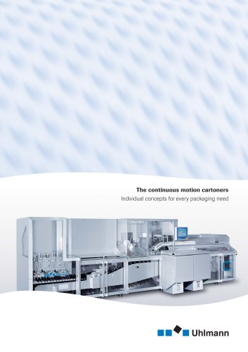 The continuous motion cartoners