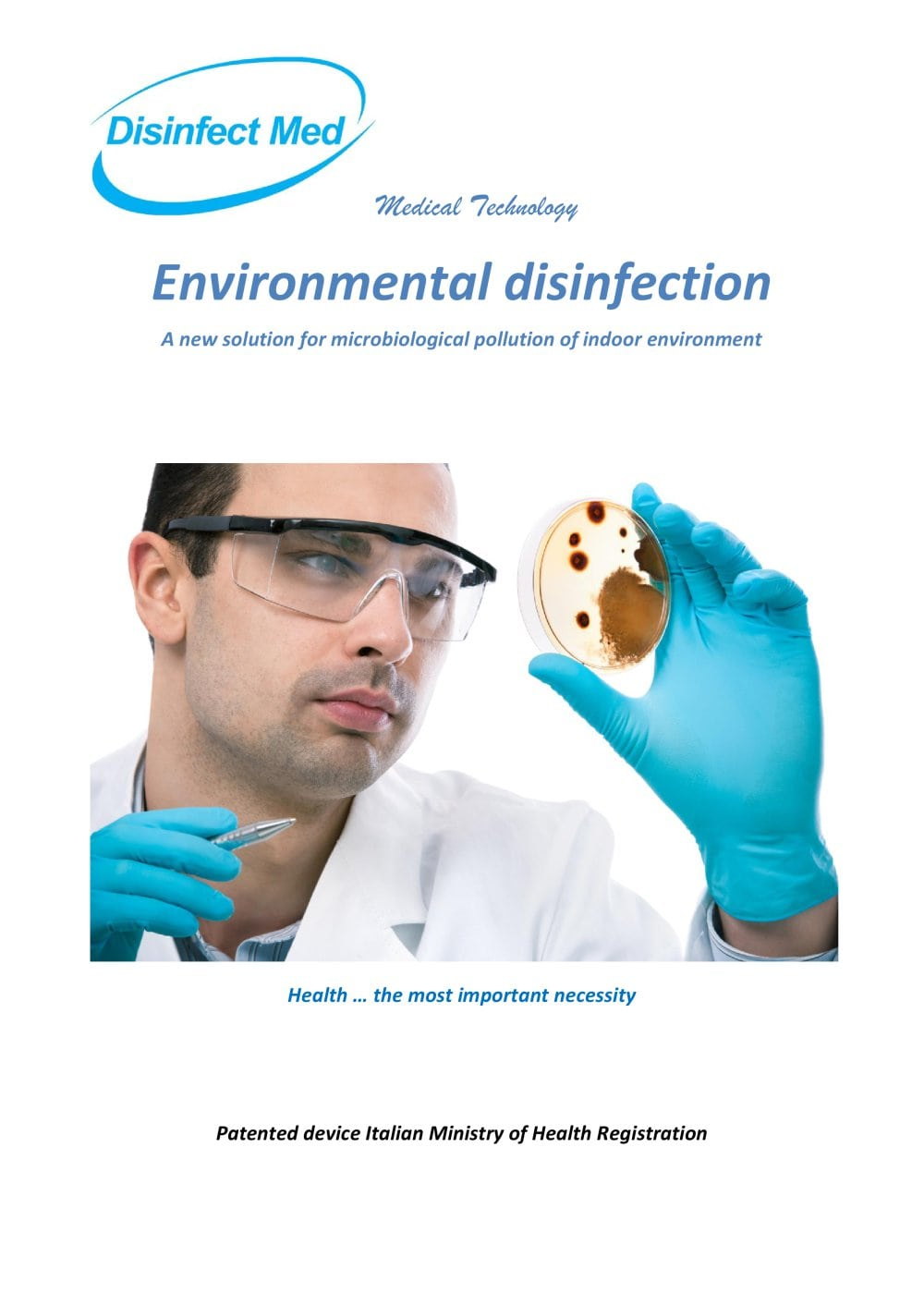 Environmental disinfection - DISINFECT MED - PDF Catalogs