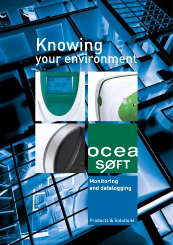 Catalog - Monitoring solutions - OCEASOFT