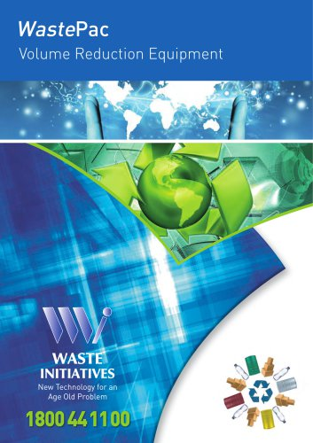 WastePac Volume Reduction Equipment