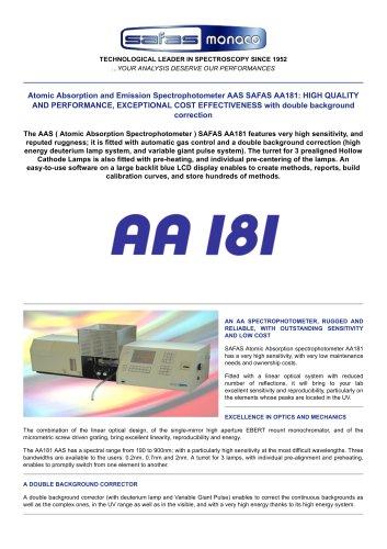 SAFAS AA181