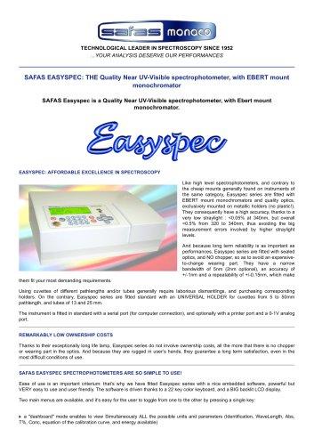 SAFAS EASYSPEC