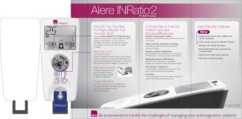 Alere INRatio®/INRatio®2