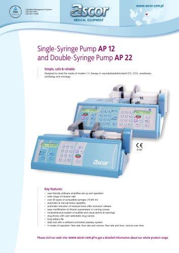 Syringe pumps Ascor AP12/AP22 - EN