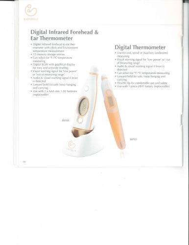 BBT01  Digital Thermometer