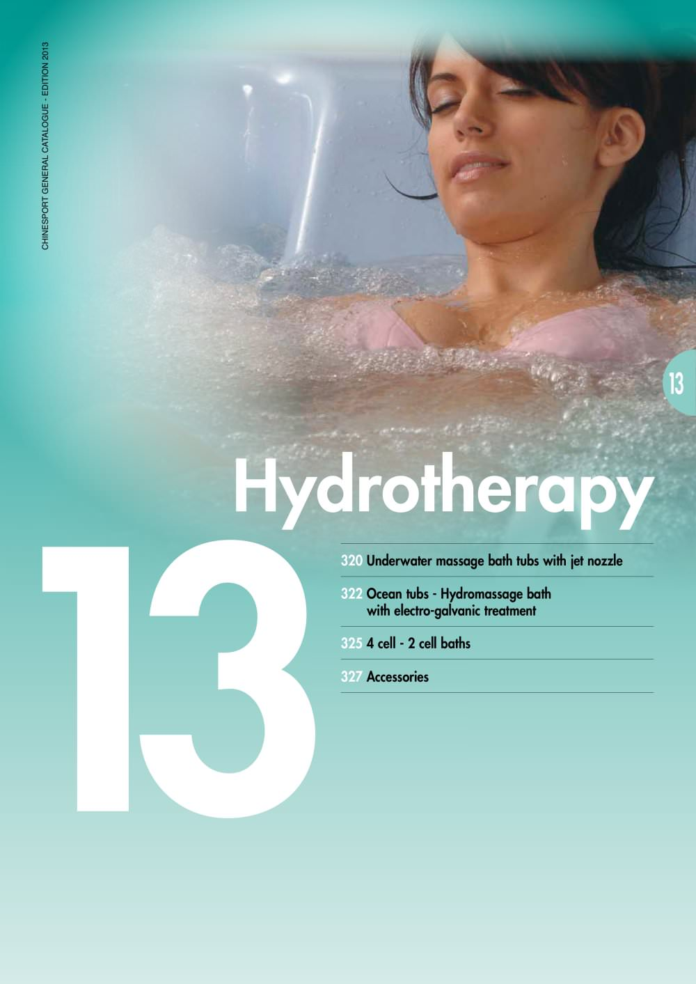 hydrotherapy - Chinesport - PDF Catalogue | Technical Documentation